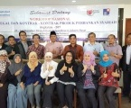 Upgrading Notaris Perbankan Syariah  (Pelatihan Notaris Level 2 =  Training lanjutan)  Topik  Aspek Legal  Musyarakah Mutanaqishah, Hybrid Contract, Perjanjian Take Over Syariah dan Refinancing  21 Okt 2017  di Hotel Arjuna,